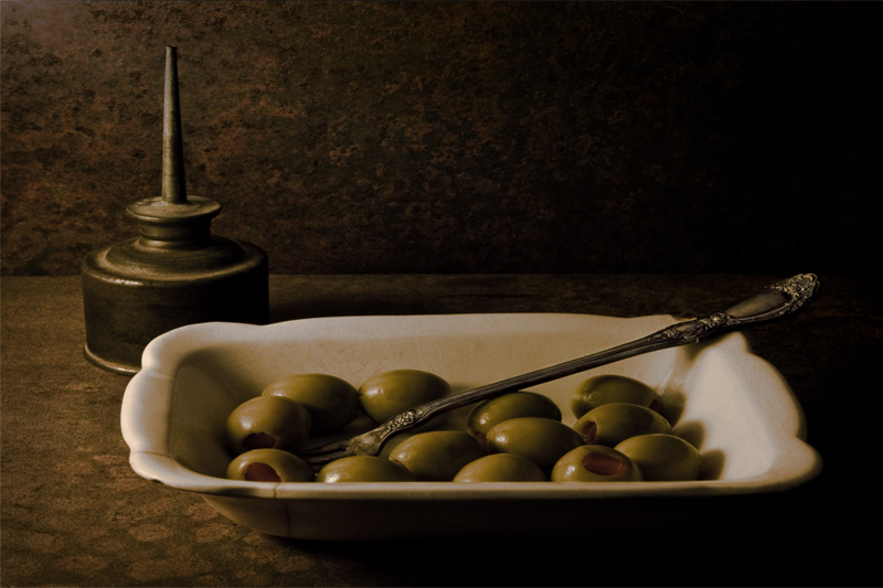 Olives & Oil (Alphabet Series #2-O)