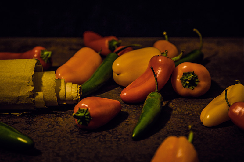 Side by Side Series #7: Strewn Peppers and the Ancient Scroll