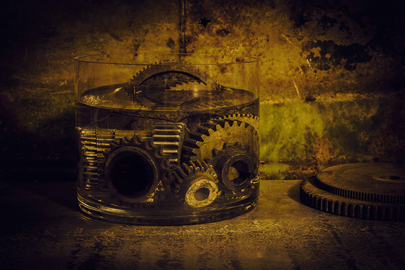 Numbers Series #5: Twelve Submerged Gears