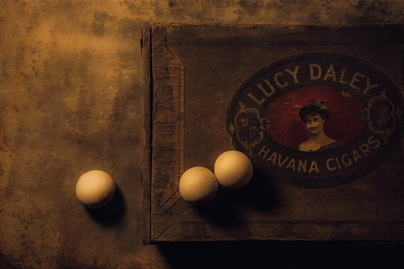 Lucy Daley's Ivory Orbs