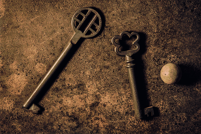 Two Keys and the Orb