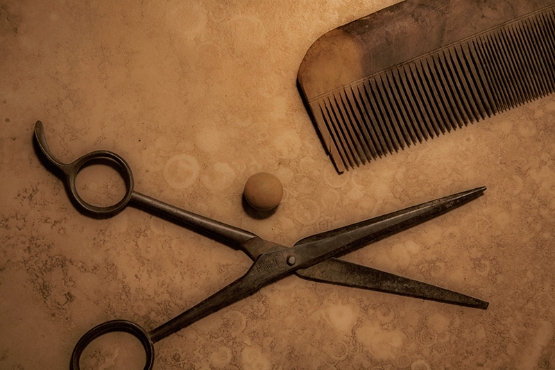 The Barber's Tools and the Orb