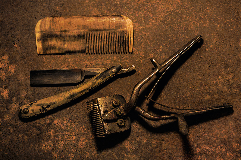 Barber's Implements
